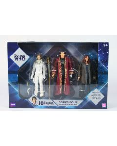 Doctor Who RIVER SONG DONNA NOBLE THE NARRATOR action figure set toy Dr - NEW!