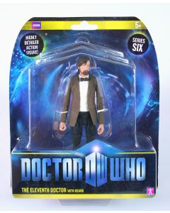 """Doctor Who 11th DOCTOR with beard 6"""" action figure toy Dr Who - NEW!"""