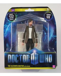 """Doctor Who 11th DOCTOR with beard 6"""" action figure toy flesh Dr Who - NEW!"""