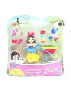 DISNEY PRINCESS doll SNOW WHITE's Bashful Garden Little Kingdom playset toy NEW!