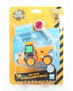 My 1st JCB On Site DOUG DUMPTRUCK bulldozer toy construction vehicle digger NEW!