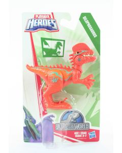 JURASSIC WORLD Playskool Chomp 'n Stomp DILOPHOSAURUS action figure toy - NEW!