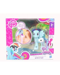 MY LITTLE PONY magical scenes RAINBOW DASH action figure toy MLP G4 - NEW!