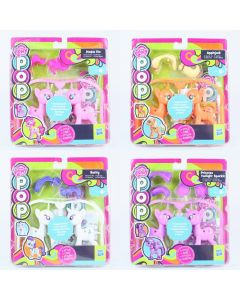 MY LITTLE PONY pop set of 4 RARITY PINKIE PIE APPLEJACK TWILIGHT SPARKLE toy NEW