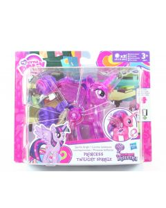 "My Little Pony PRINCESS TWILIGHT SPARKLE Bright 4"" toy action figure - NEW!"
