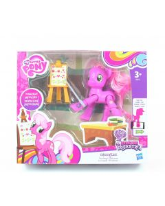 "MY LITTLE PONY equestria CHEERILEE 3"" poseable teaching action figure toy - NEW!"