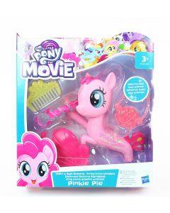 "MY LITTLE PONY movie PINKIE PIE 6"" seaquestria Glitter & Style seapony toy NEW!"