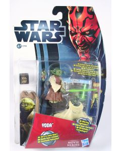 Star Wars YODA jedi master Movie Heroes toy action figure MH09 - NEW!