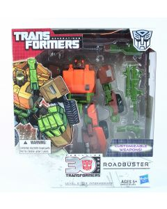 "Transformers Generations AUTOBOT ROADBUSTER Voyager 8"" action figure toy - NEW!"