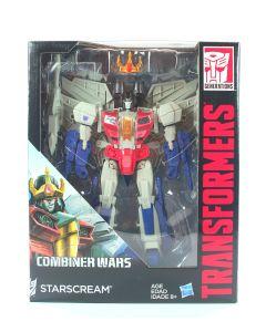 "Transformers Generations Combiner Wars STARSCREAM Leader 10"" action figure - NEW"