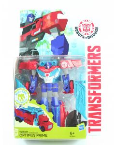 """TRANSFORMERS Robots in Disguise power surge OPTIMUS PRIME 5"""" action figure toy!"""