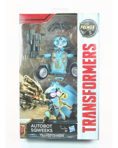 "TRANSFORMERS The Last Knight AUTOBOT SQUEEKS 5"" Premier Deluxe action figure toy"