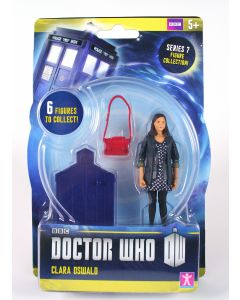 DOCTOR WHO 10cm CLARA OSWALD action figure series 7 toy dr companion - NEW!