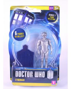 DOCTOR WHO 10cm CYBERMAN action figure series 7 toy dr cyber man - NEW!