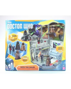 DOCTOR WHO 10cm INTO THE DALEK playset TWELFTH DR DALEKS CLARA figures toys NEW!