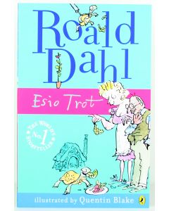 ROALD DAHL classic ESIO TROT paperback pb story book - NEW!