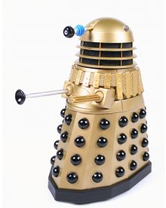 """Doctor Who gold SUPREME DALEK 5"""" action figure toy Dr Who - NEW!"""