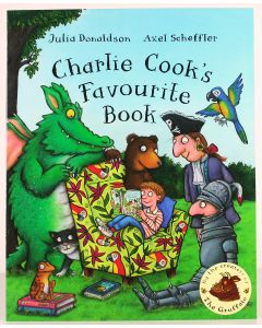 JULIA DONALDSON classic CHARLIE COOK'S FAVOURITE BOOK children's paperback - NEW