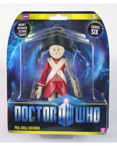 """Doctor Who PEG-DOLL SOLDIER 6"""" action figure toy Dr Who - NEW!"""