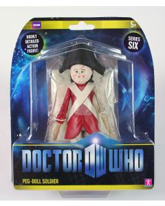"""Doctor Who PEG-DOLL SOLDIER 6"""" action figure toy flesh Dr Who - NEW!"""