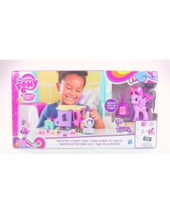 MY LITTLE PONY toy FRIENDSHIP EXPRESS TRAIN playset TWILIGHT SPARKLE figure NEW!