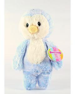 """AURORA SMITTIES cuddly blue PENGUIN 11"""" plush soft toy newborn baby - NEW!"""