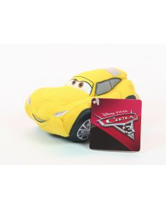 "Disney Cars 3 CRUZ RAMIREZ 6"" race car plush soft toy - NEW!"