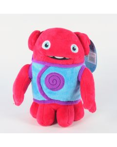 "HOME alien BOOV OH - RED 6"" plush soft toy DreamWorks - NEW!"