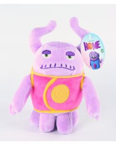 "HOME alien BOOV CAPTAIN SMEK 6"" plush soft toy DreamWorks - NEW!"