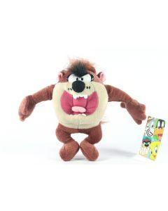 "LOONEY TUNES classic TAZ TAZMANIAN DEVIL 6"" plush soft toy cartoon TV - NEW!"