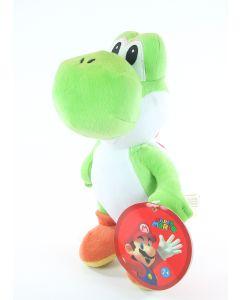 "SUPER MARIO BROTHERS plush YOSHI 10"" soft dinosaur toy bros Nintendo - NEW!"