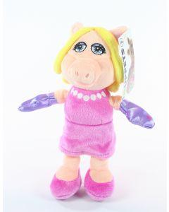 "THE MUPPETS SHOW flopsies MISS PIGGY 8"" plush soft toy Jim Henson Disney - NEW!"