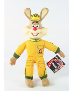 "ROARY THE RACING CAR rabbit FLASH 9"" vinyl plush soft toy furz - NEW!"