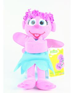 "Sesame Street ABBY CADABBY 9"" plush soft toy Hugs Forever Friends Playskool NEW!"