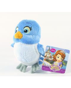 "SOFIA THE FIRST bluebird friend MIA 5"" soft plush toy Disney Junior - NEW!"