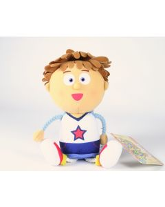 """Tickety Toc TOMMY twin 8"""" plush soft toy"""