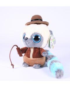 "YOOHOO and friends ADVENTURER 5"" wannabe plush soft toy indiana jones - NEW!"