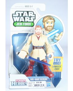 STAR WARS Playskool Heroes OBI-WAN KENOBI toy action figure JEDI FORCE - NEW!