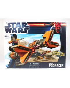 Star Wars Sebulba's PODRACER pod racer clone spaceship vehicle toy
