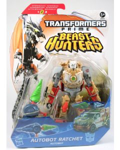 "Transformers Prime Beast Hunters Deluxe RATCHET 6"" Autobot action figure - NEW!"