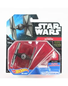 Star Wars First Order Tie Fighter diecast spaceship toy Mattel Hot Wheels DJJ61