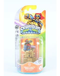 SKYLANDERS Swap Force HEAVY DUTY SPROCKET action figure toy PS3 PS4 Wii XBox One