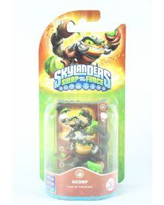 SKYLANDERS Swap Force SCORP action figure toy PS3 PS4 Wii XBox One - NEW!