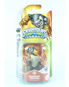 SKYLANDERS Swap Force KNOCKOUT TERRAFIN action figure toy PS3 PS4 Wii XBox - NEW